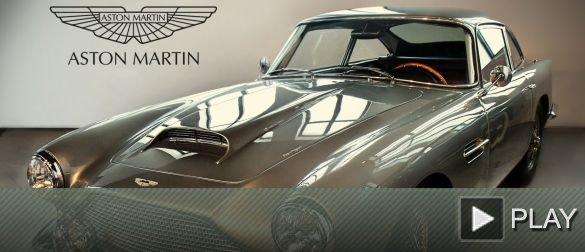 Conduce el Aston Martin DB4 del Museo Automovilístico de Málaga