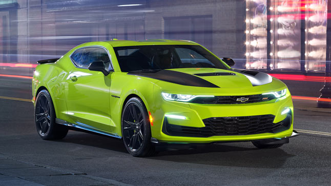 El Chevrolet Camaro 2019 debutará en el SEMA de Las Vegas