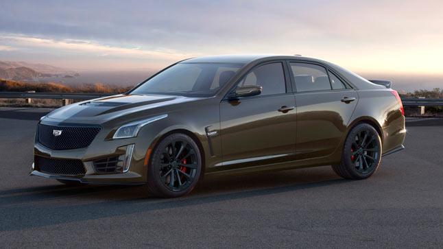 Cadillac lanza la serie exclusiva Pedestal Edition para los V-Series