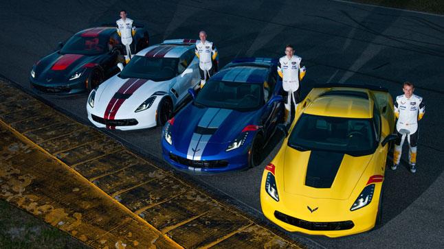 Chevrolet rinde homenaje a sus pilotos con los Corvette Drivers Series