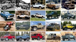 Fotos: 20 Jeep pick up anteriores al Gladiator