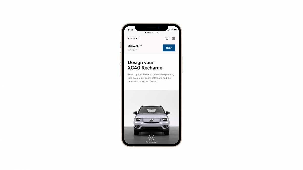Volvo venderá sus vehículos 100% eléctricos exclusivamente online