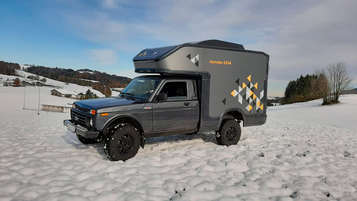 Lada Niva autocaravana: un 4×4 vivienda por menos de 20.000 euros