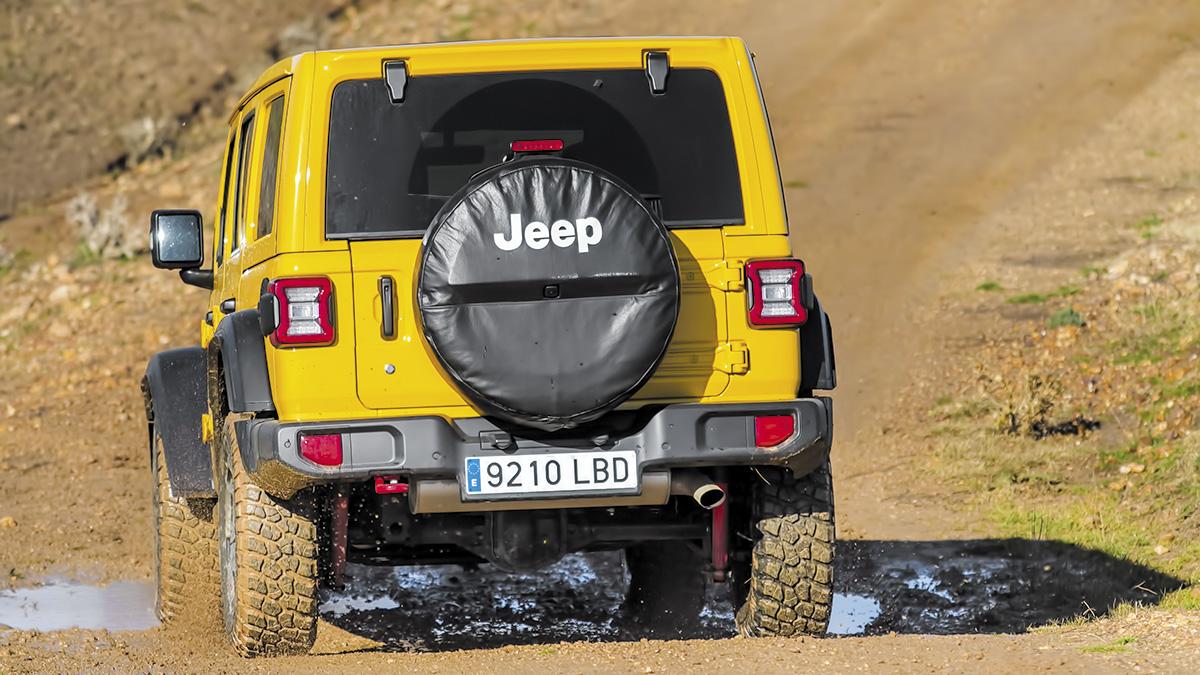 Cuáles son las armas todoterreno del Jeep Wrangler Rubicon