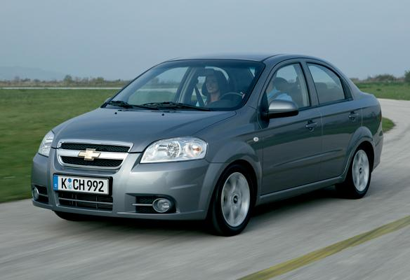 Chevrolet Aveo (2006) 1.4 Lt