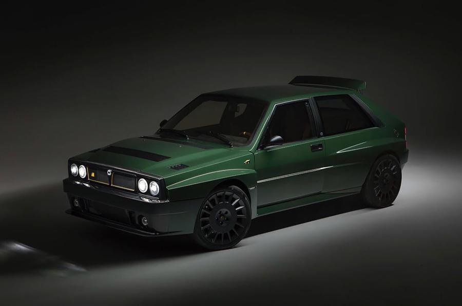 El mítico Lancia Delta Integrale resucita de la mano de Automobili Amos Futurista