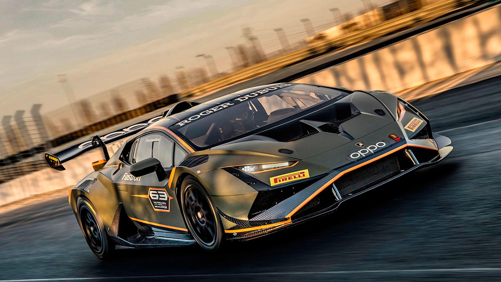 Nuevo Lamborghini Huracán Super Trofeo EVO2 2021: solo para circuito
