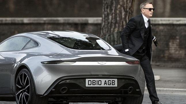 Aston Martin DB10 vs Jaguar C-X75 en la nueva película de James Bond
