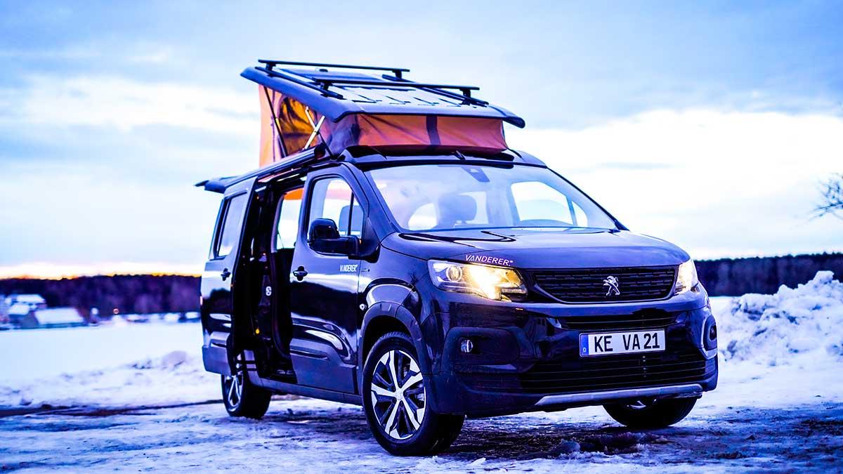 Citroën Berlingo XL y Peugeot Rifter Camper: versiones 'low cost' de la mano de Vanderer