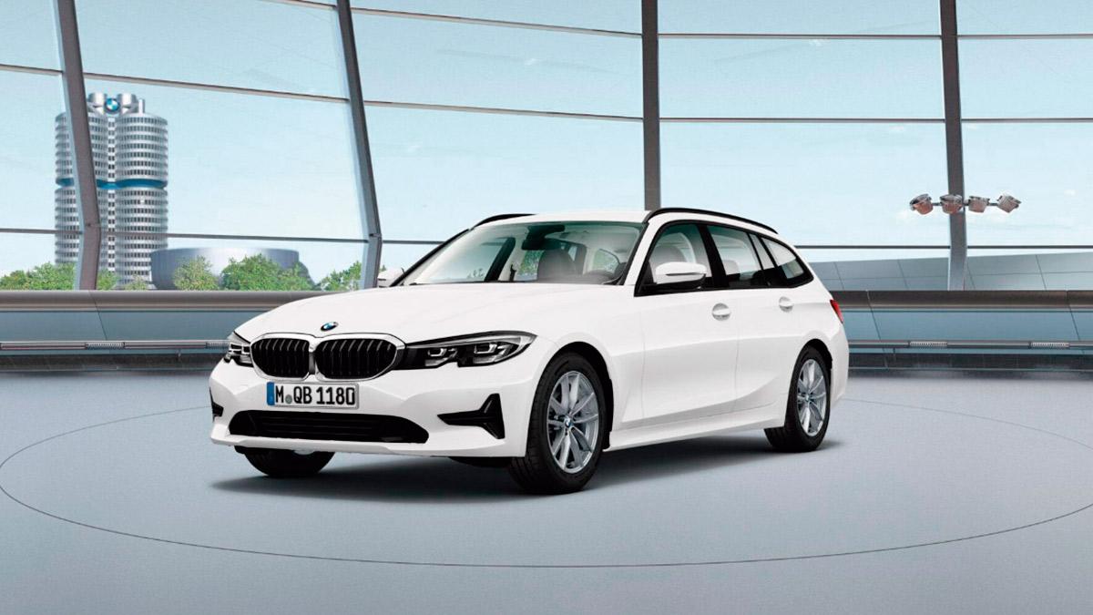 BMW Serie 3 2021: así es la versión de acceso diésel… ¡con 122 CV e hibridación!