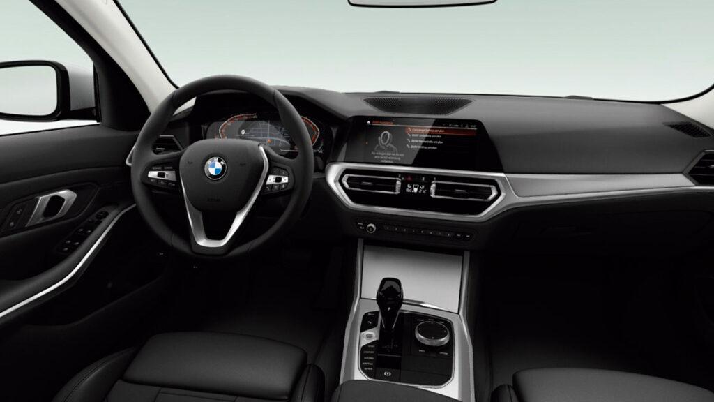 BMW 316d interior