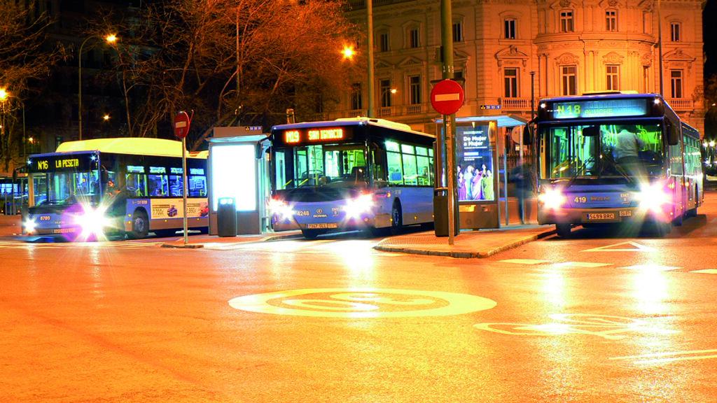 Autobus nocturno EMT