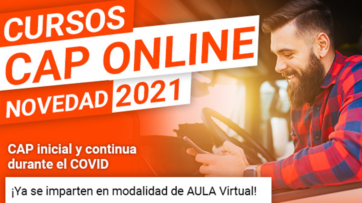 Hito histórico en la formación de conductores profesionales: comienzan los primeros cursos CAP en la modalidad online en España
