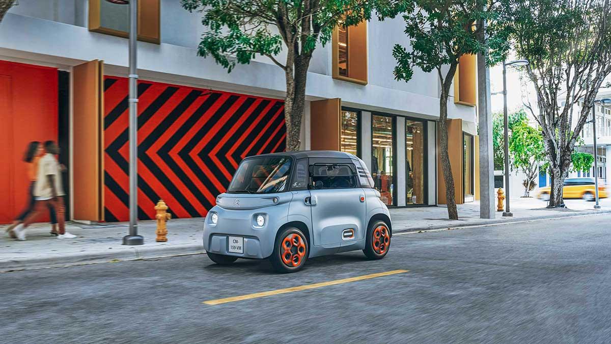 Gama CERO de Citroën: perfecta para moverse por la ciudad