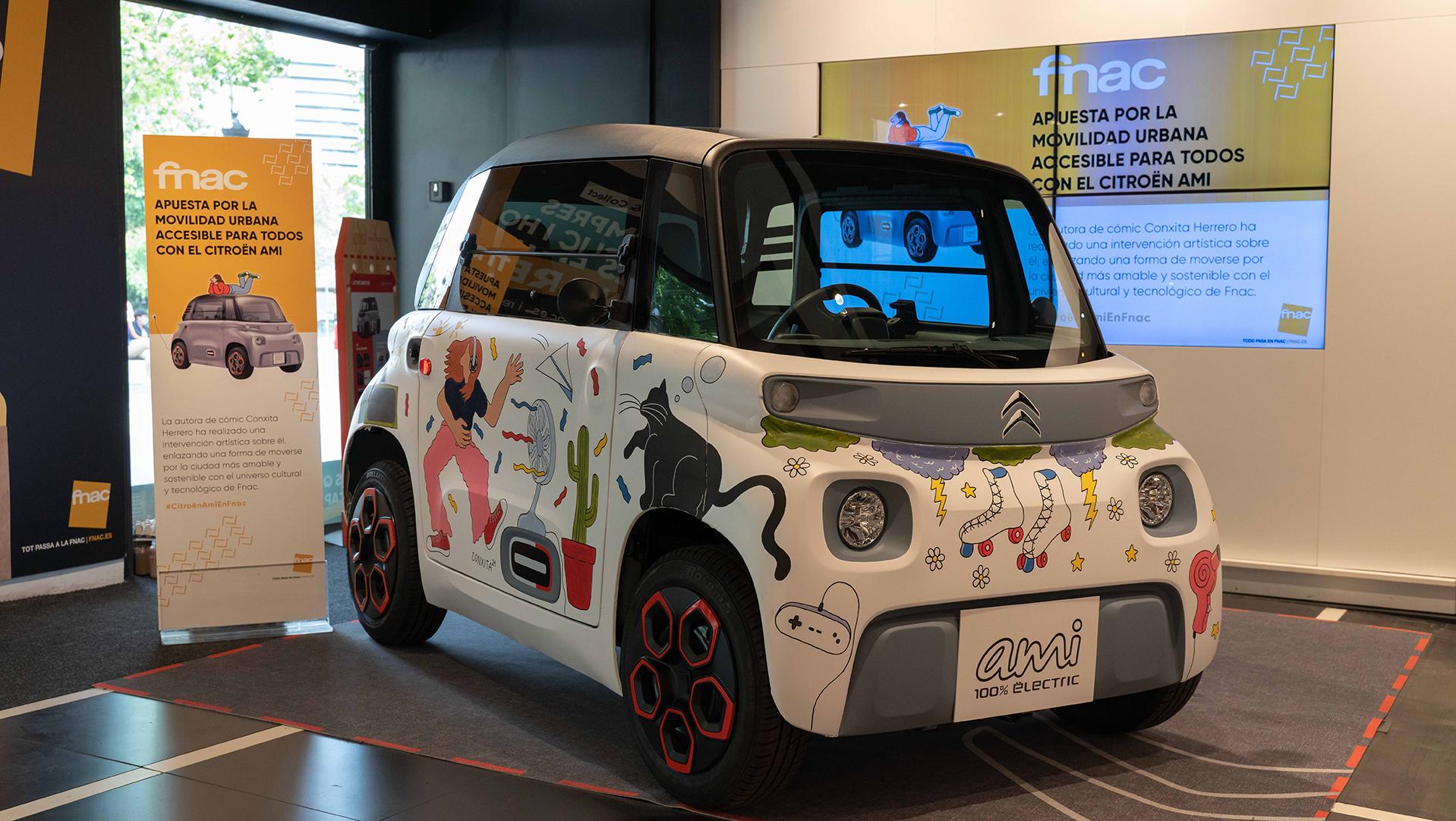 Citroën Ami, a la venta en FNAC