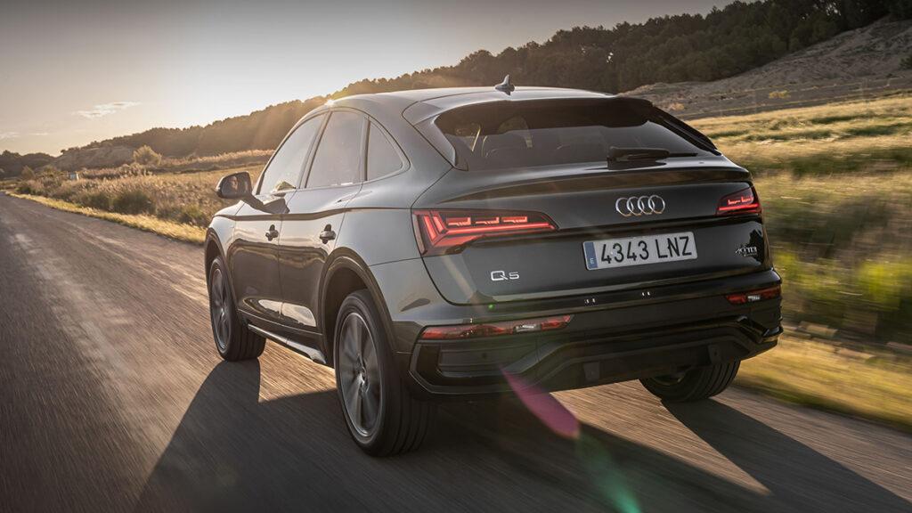 Audi Q5 Sporback trasera