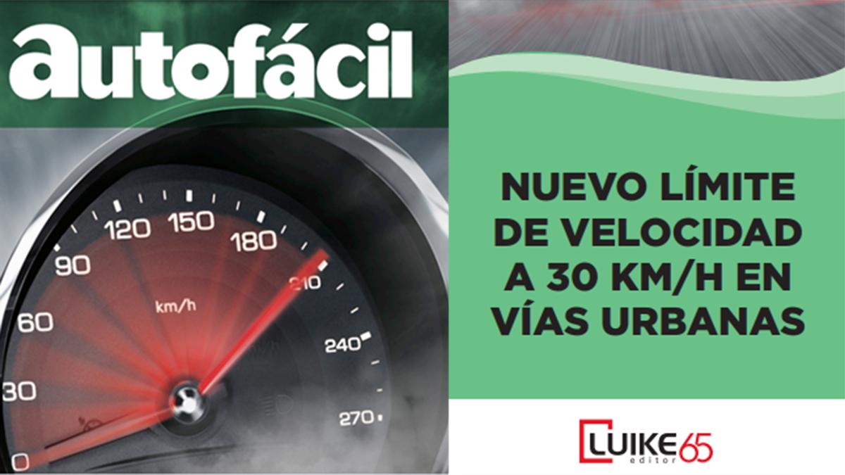 ¡GRATIS! Guía con el nuevo límite a 30 km/h