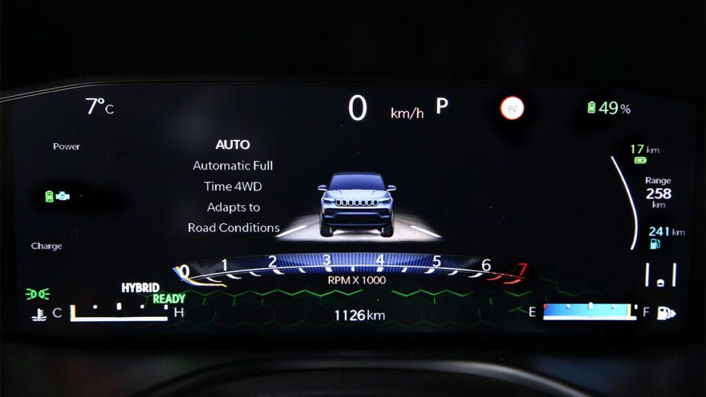 Jeep Compass 2021 primera prueba