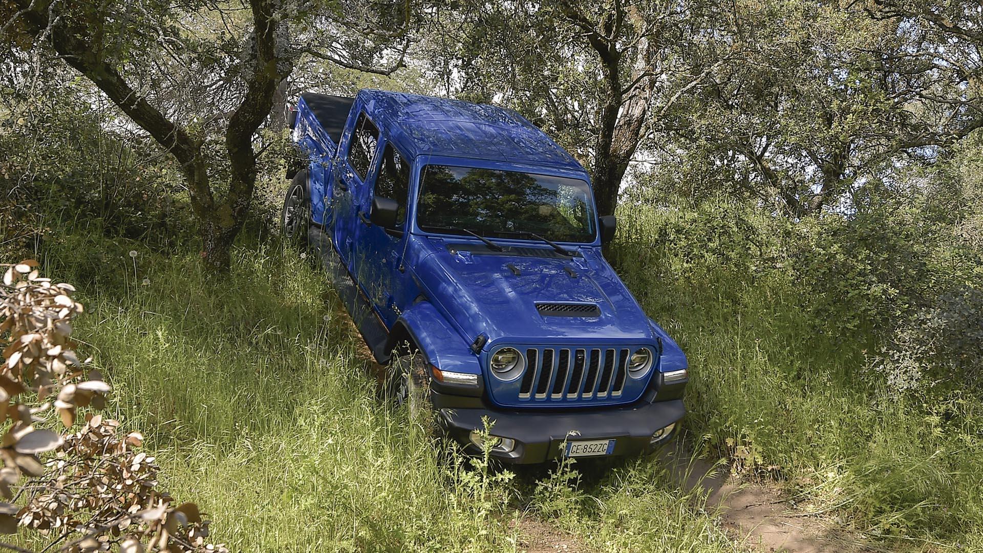 Nuevo Jeep Gladiator Overland 2021: Primera prueba
