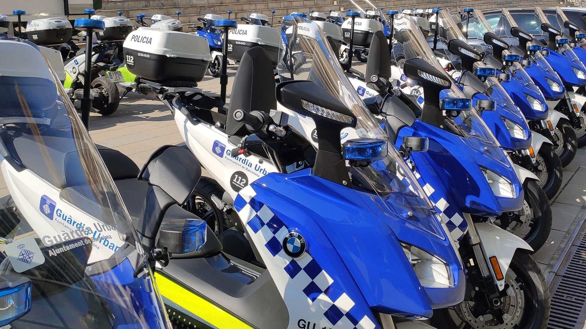La Guardia Urbana de Barcelona adquiere 30 unidades del scooter eléctrico de BMW