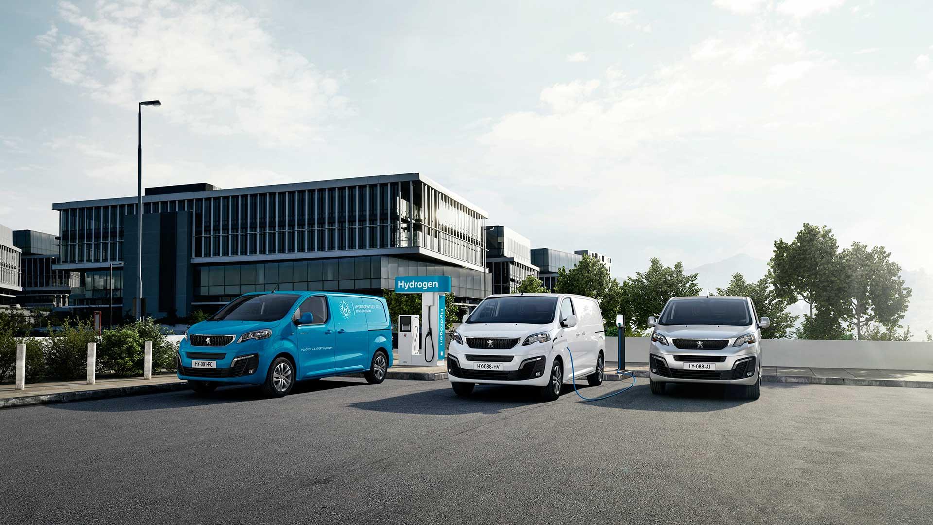 Nuevo Peugeot e-Expert Hydrogen: variante de hidrógeno con 400 km de autonomía