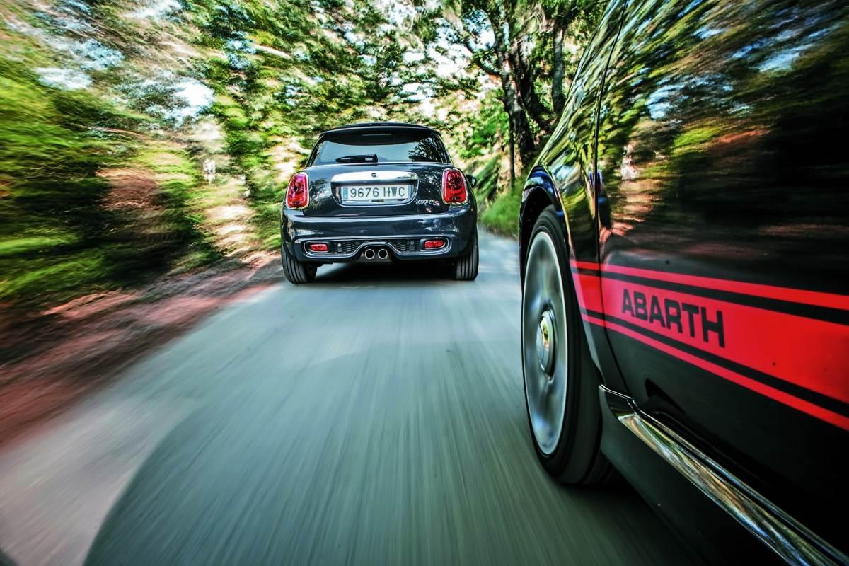 Comparativa: Abarth 595 Competizione vs Mini Cooper S