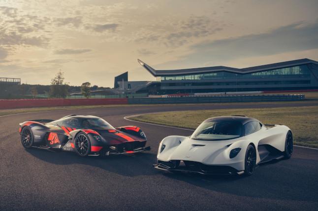 Vídeo: el Aston Martin Valhalla debuta en Estados Unidos