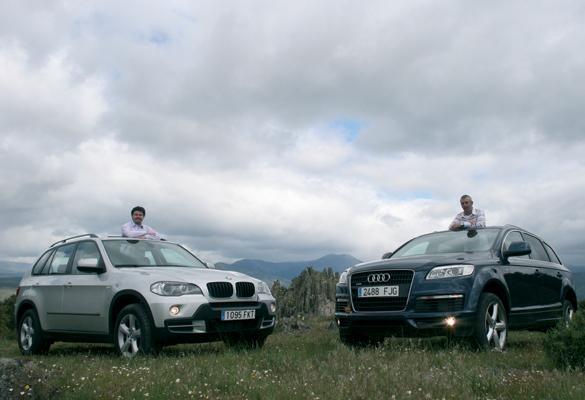 BMW  X5 3.0D vs Audi Q7 3.0 TDI DPF