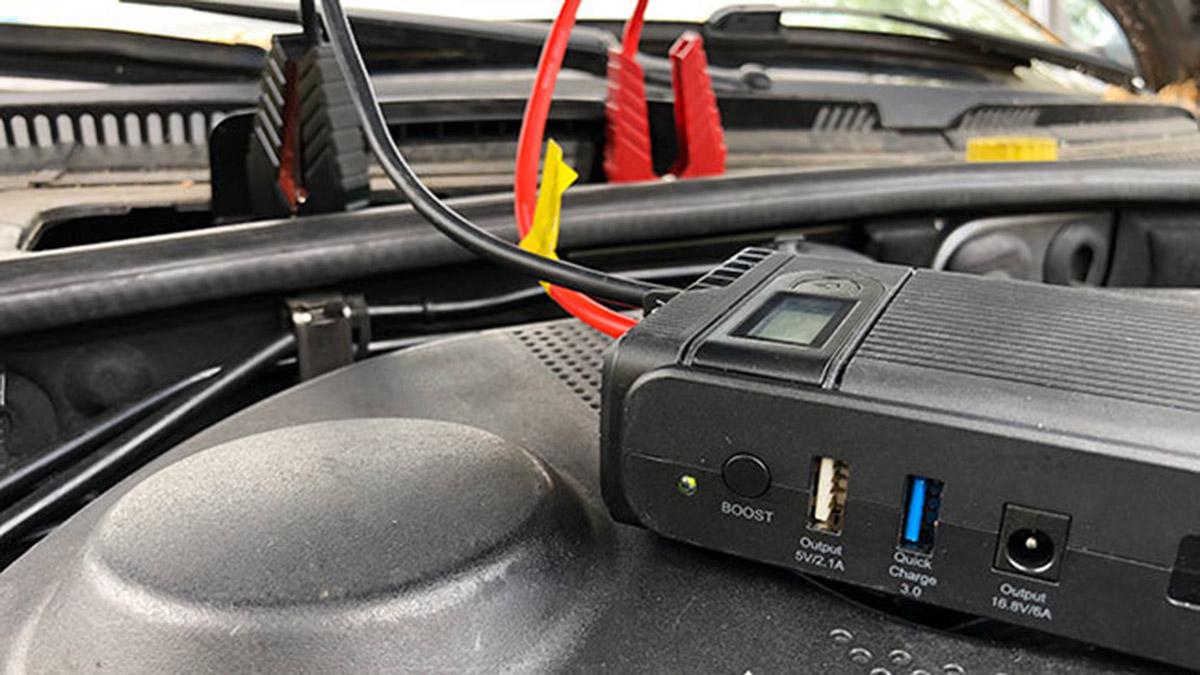 Vídeo: Arrancadores portátiles para la batería del coche, ¿cuál es el mejor?