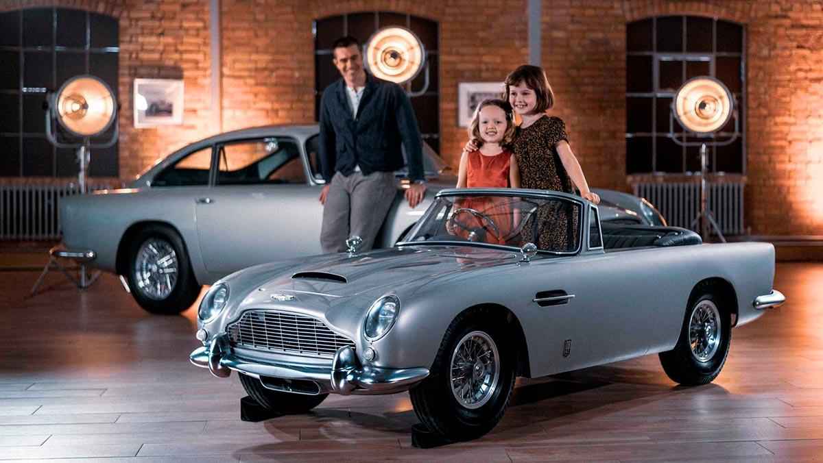 Aston Martin DB5 Junior: un juguete no apto para todos los bolsillos