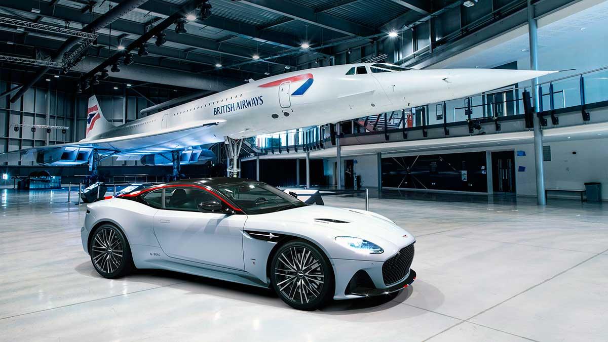 El Aston Martin DBS Superleggera Concorde entra en producción