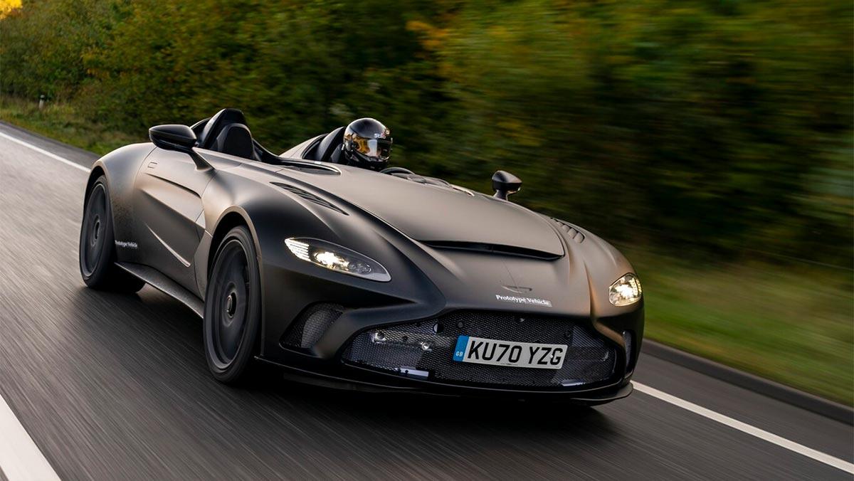 ¡Brutal! Arranca la fase de desarrollo del nuevo Aston Martin V12 Speedster
