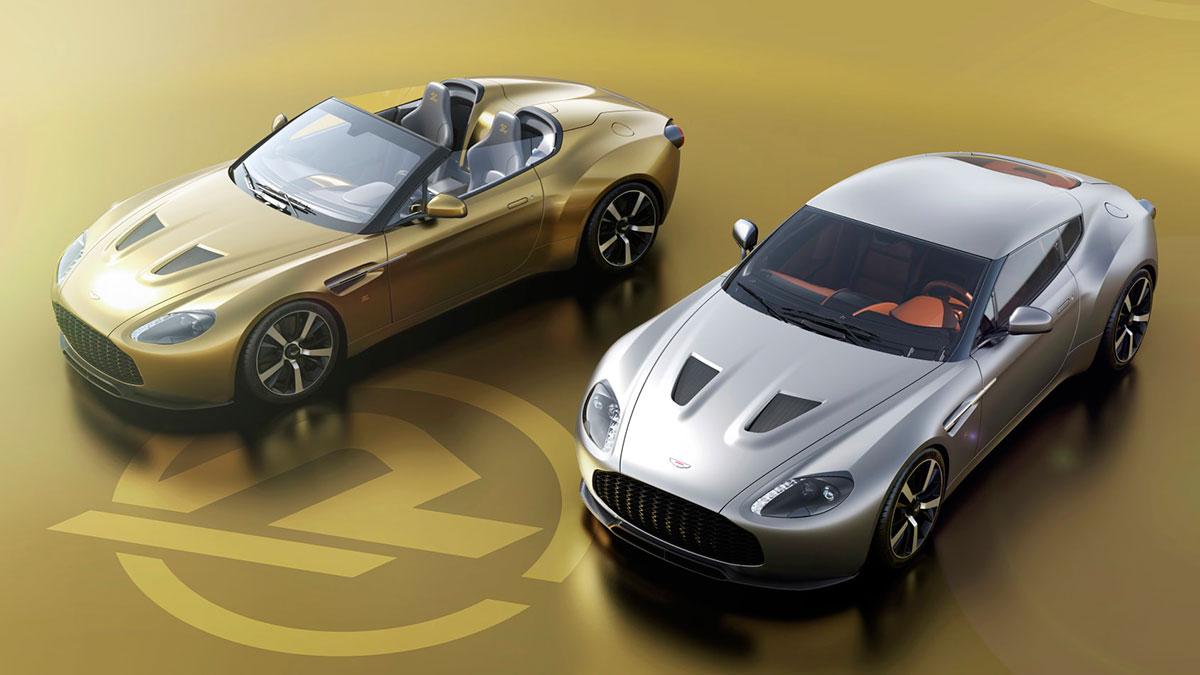 Aston Martin V12 Vantage Zagato Heritage Twins: una pareja hipervitaminada por R-Reforged y con un precio de 1,75 millones de libras