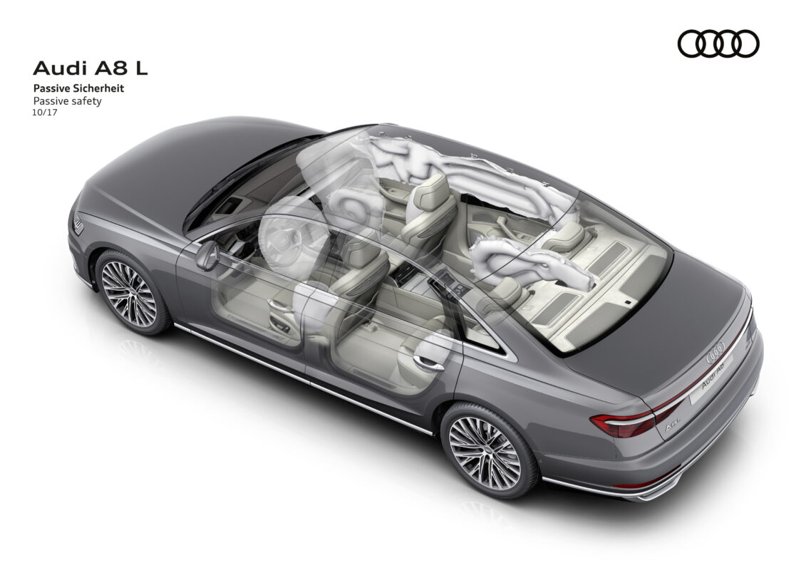 audi a8 18. airbags 1