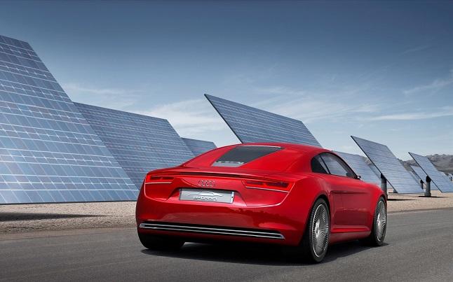 audi coche solar