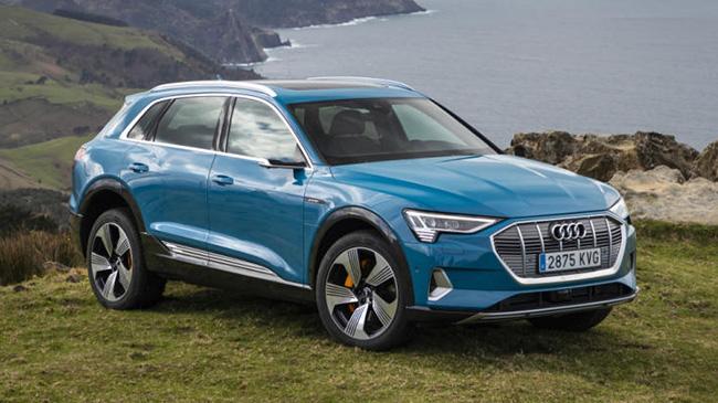 Los rivales del Audi e-tron