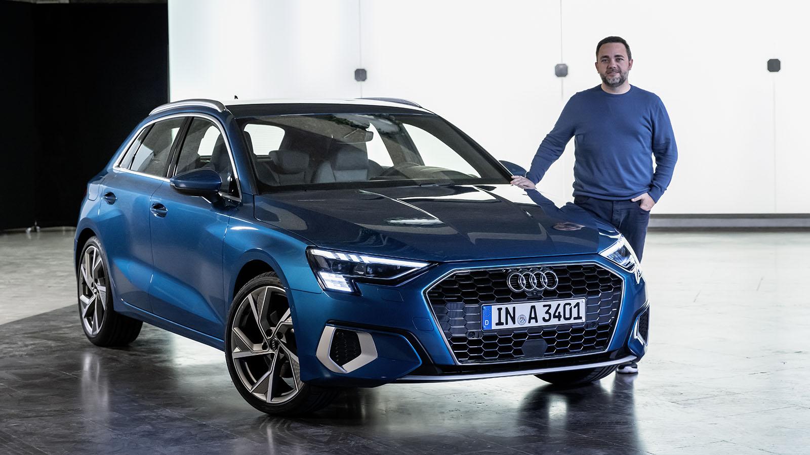 Nos subimos en primicia al Audi A3 Sportback 2020