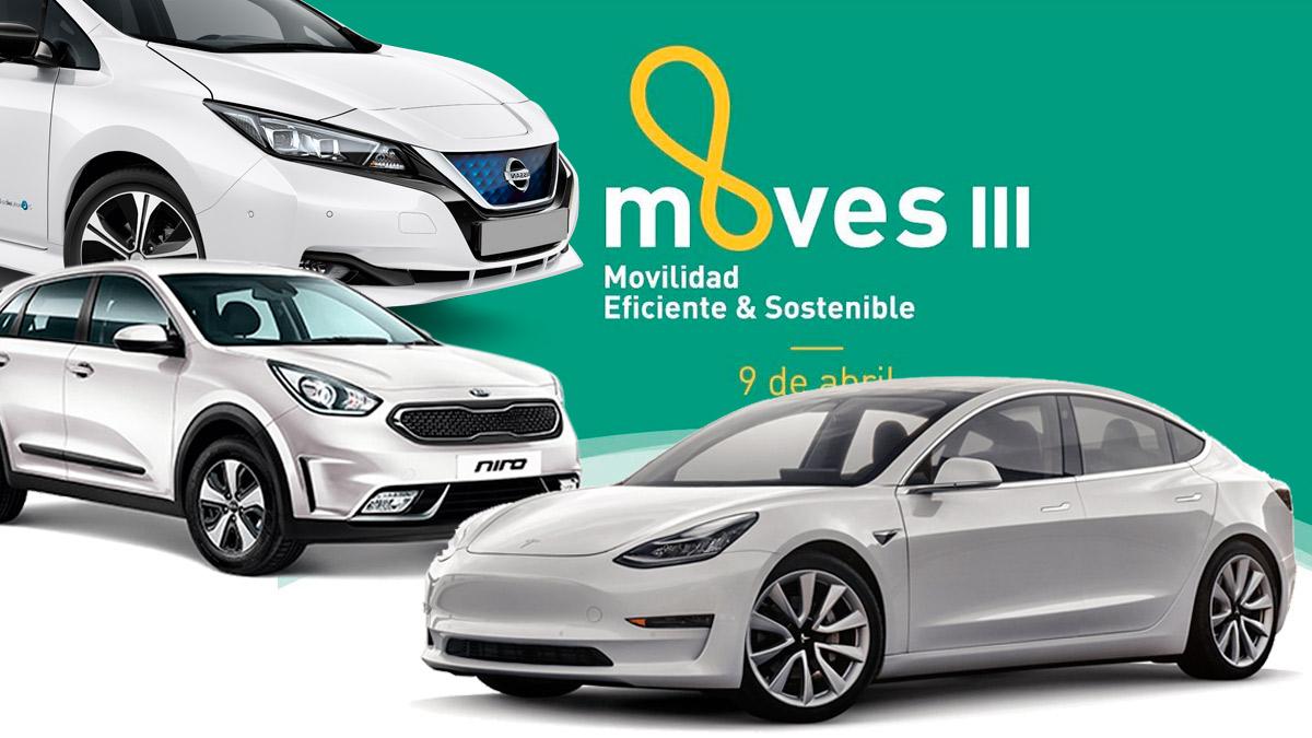 Plan MOVES III: hasta 7.000 euros de ayuda por la compra de un vehículo eléctrico