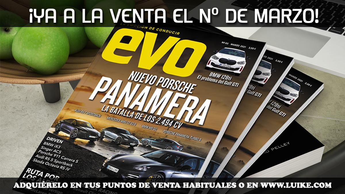 EVO 65: Nuevo Porsche Panamera frente a sus rivales