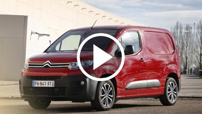 Citroën Berlingo Van: prestaciones y tecnología 'Made in Spain'