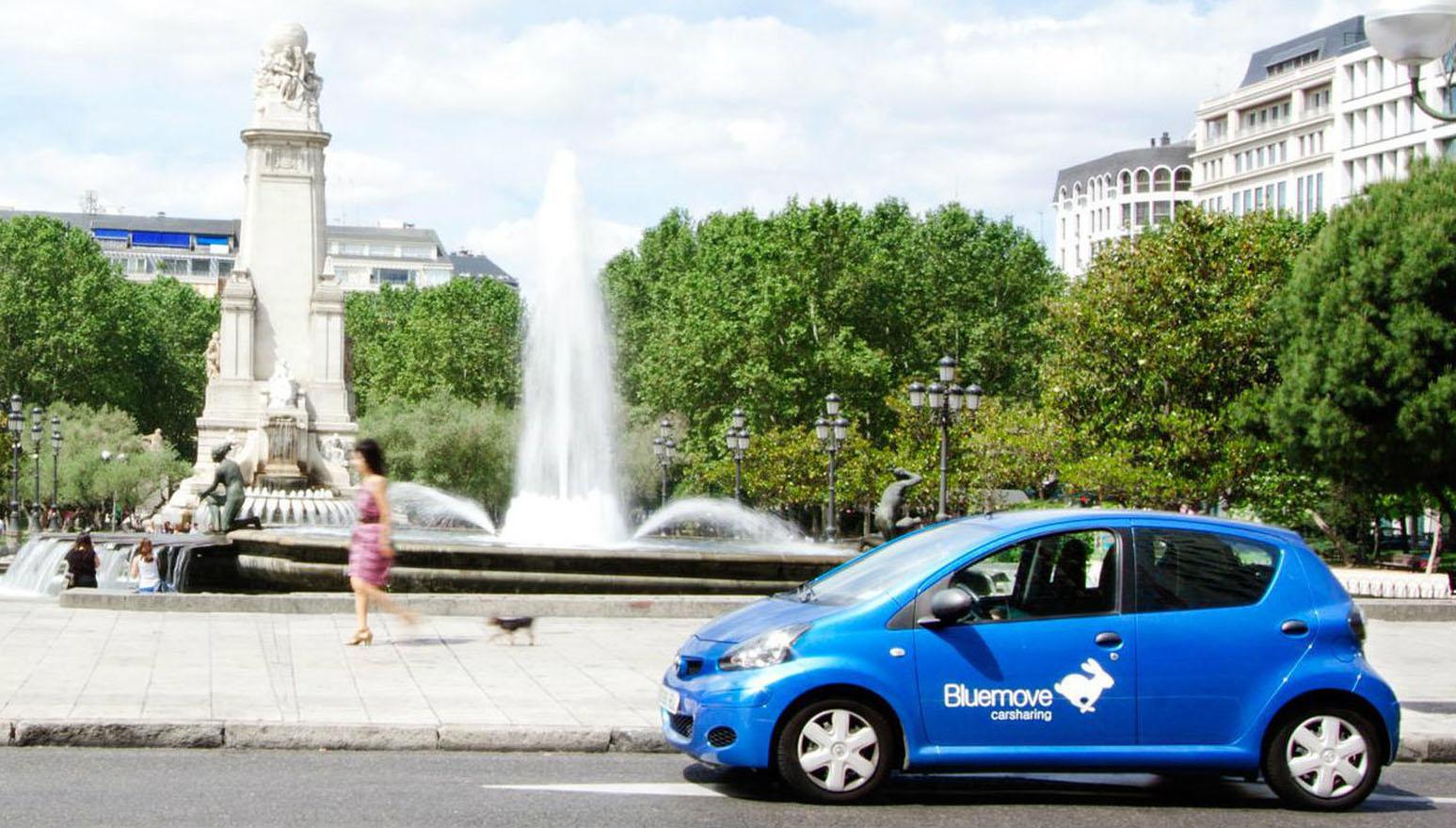Cómo es el carsharing de Bluemove en Madrid