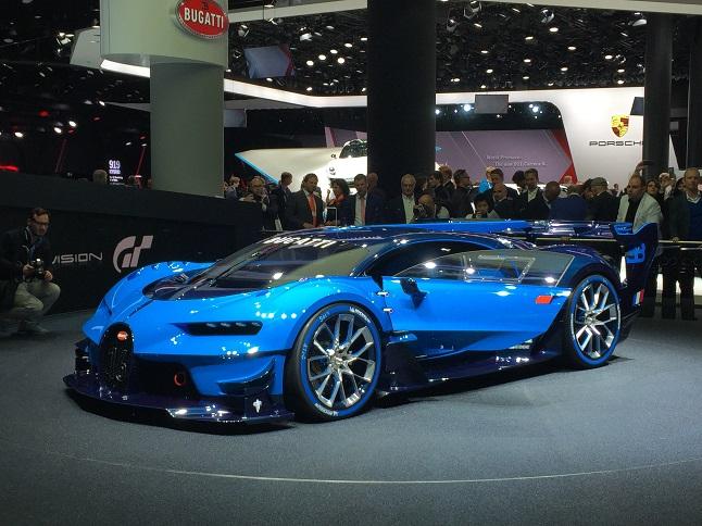 Bugatti Visión GT, el previo al sucesor del Veyron