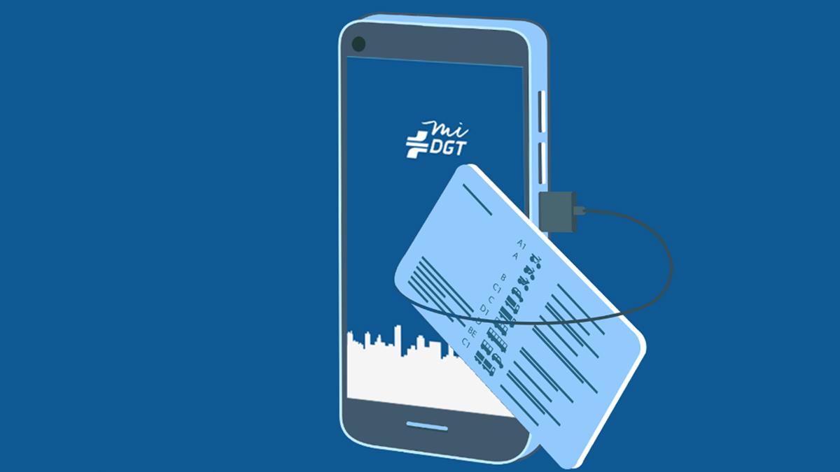 Llevar el carnet de conducir en el móvil ya es legal con la app miDGT