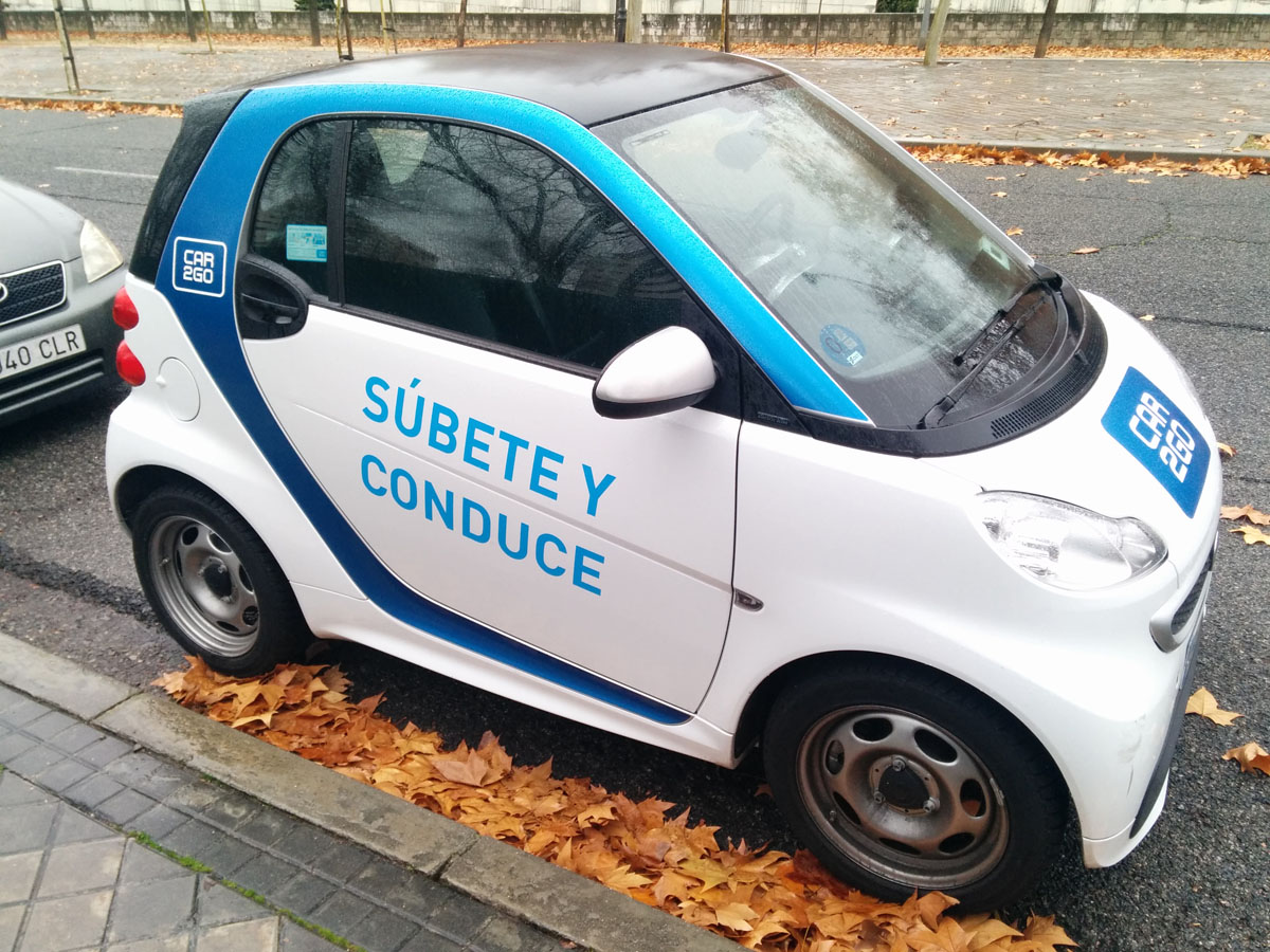 Car2go: probamos una de las soluciones para circular por Madrid pese a la contaminación