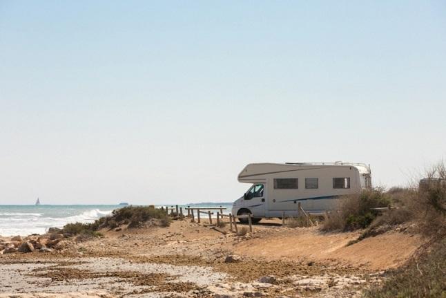 caravana playa