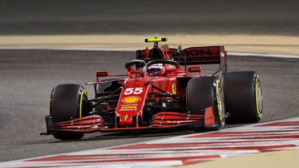 Carlos Sainz en Ferrari