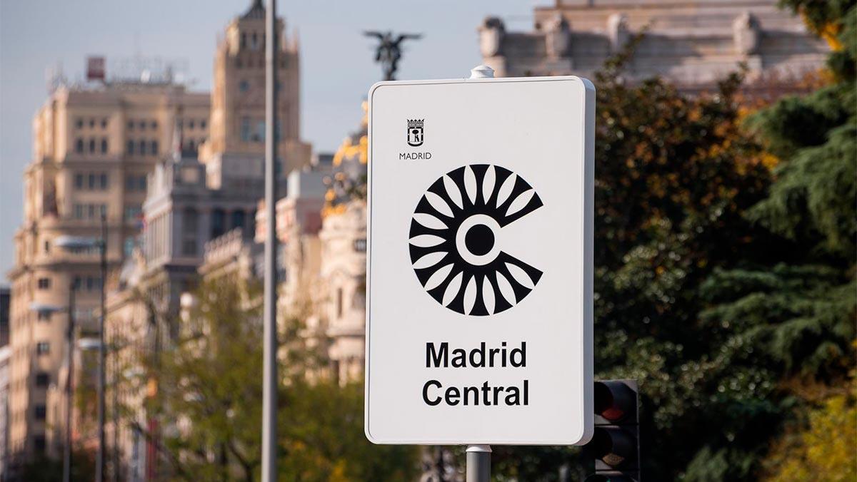cartel madrid central 27112018