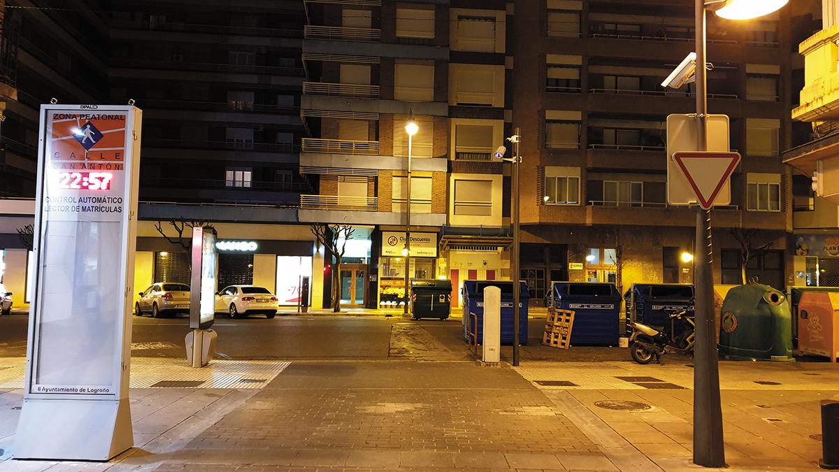 El Ayuntamiento de Logroño quiere ponerme una multa por una señal que no existe