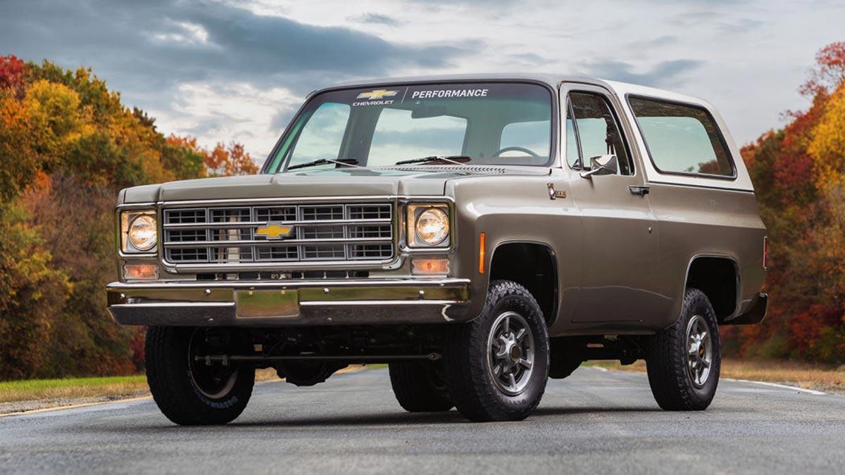 Chevrolet K5 Blazer-E: un todototerreno clásico que vuelve con motor eléctrico