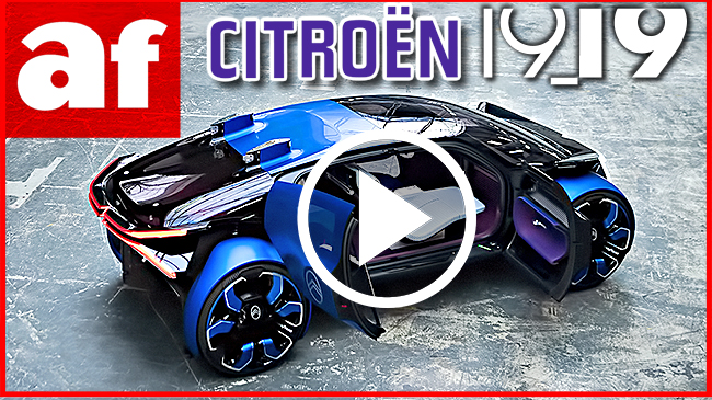 Vídeo: review exclusiva del Citroën 19_19 Concept desde París